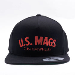 U.S. Mags - Embroidered Logo Flexfit® Snapback Hat