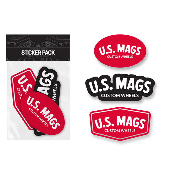 U.S. Mags Sticker Pack