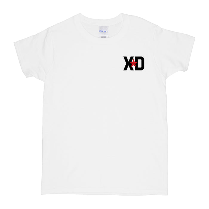 XD Logo Womens T-Shirt - White