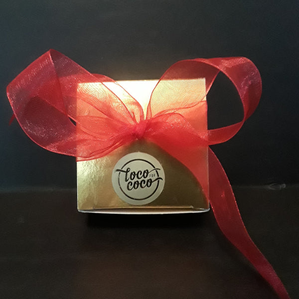 Chocolate Favor Box - 4 Truffles
