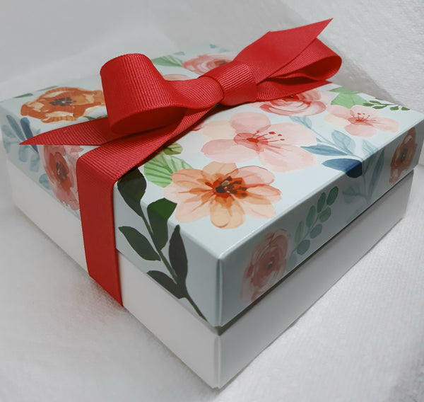 Chocolate Truffles - Floral Box (18)