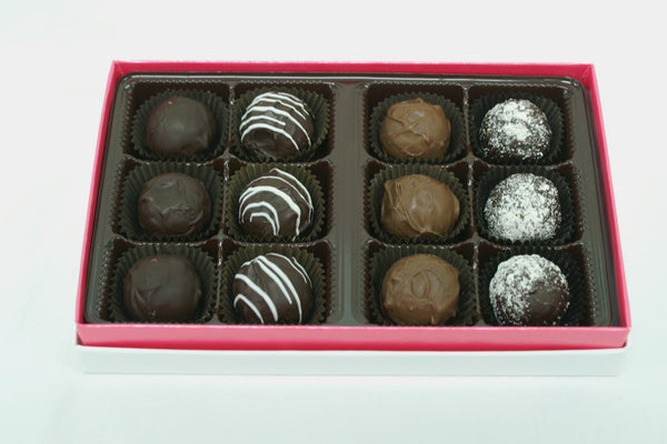 12 Piece Sugar Free Truffle Box