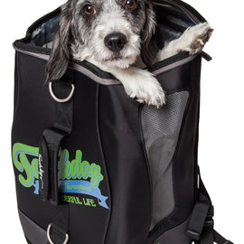 Touchdog Ultimate-Travel Airline Approved Backpack Carrying Water Resistant Pet Carrier