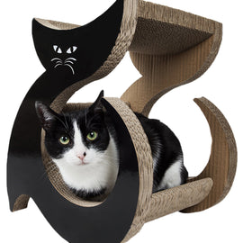 Pet Life Purresque Ultra Premium Fashion Designer Lounger Cat Scratcher