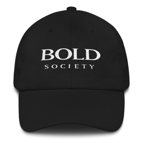 Dad Hat - Black - Bold Society