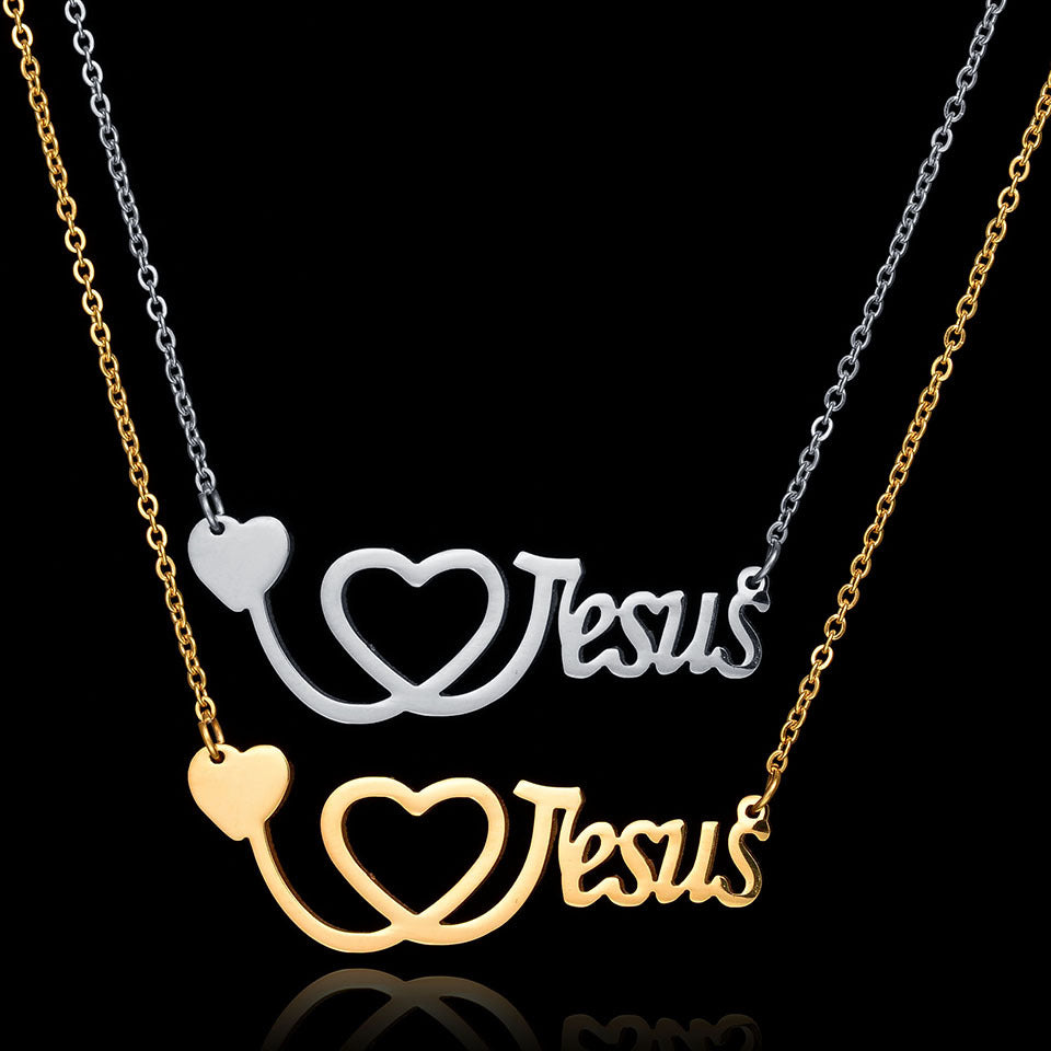 Jesus Heartbeat Necklace