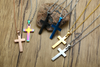 Stainless Steel Men's Cross - 6 Colors