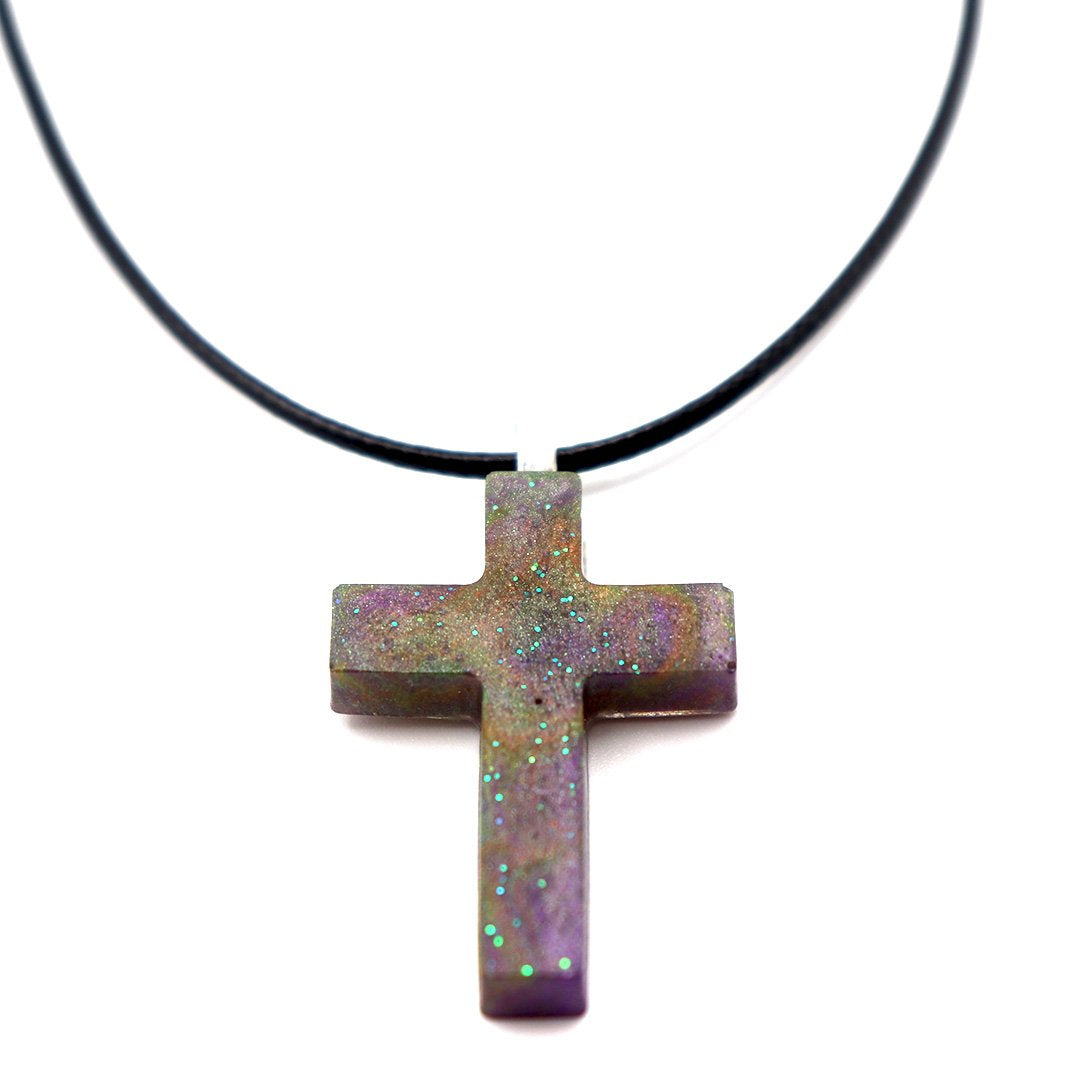 Nebula Cross - Handmade
