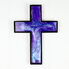 Turquoise & Purple Wall Cross