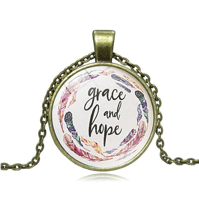 Grace and Hope Pendant
