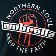 Lambretta Northern Soul Short Sleeve Tee. Navy