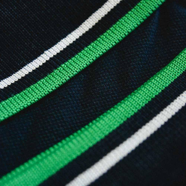 Twin Tipped Polo. Navy/Green/White