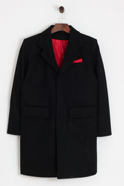 Relco - Relco Crombie Style Overcoat - Rat Race Margate