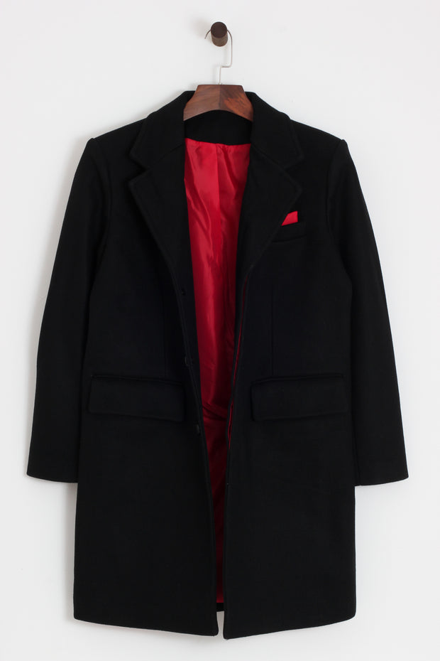 Relco - Crombie Style Overcoat - Rat Race Margate