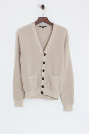 Relco - Waffle Cardigan Stone - Rat Race Margate