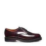 Solovair Burgundy Rub-Off Gibson Shoe