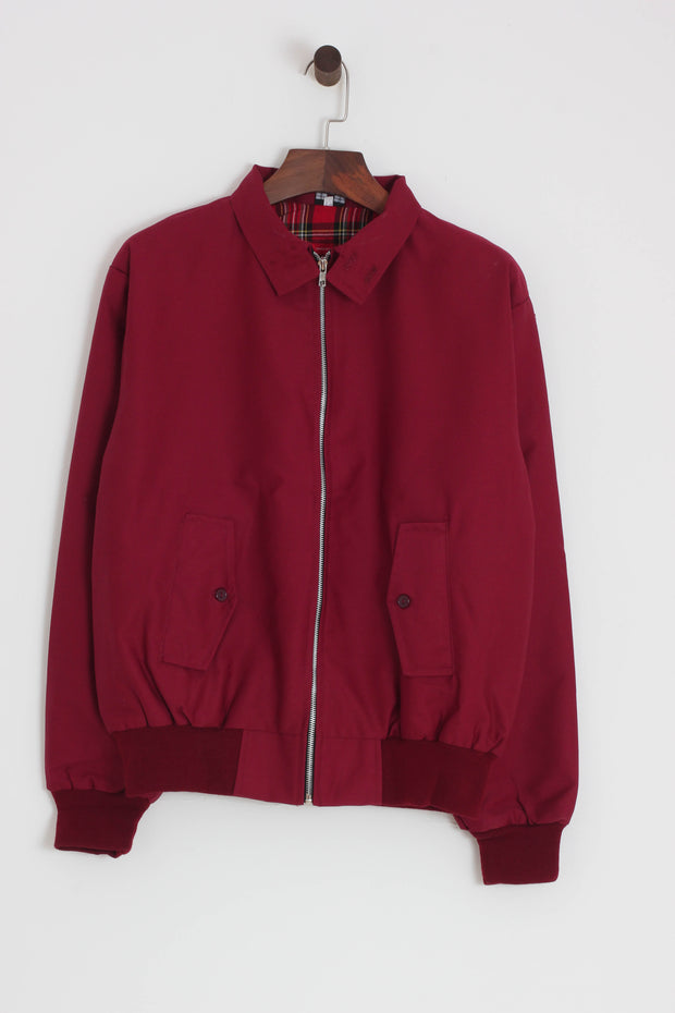 Relco - Harrington Jacket Burgundy - Rat Race Margate