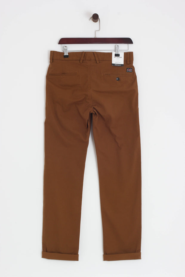 Ben Sherman - Slim Stretch Chino Caramel - Rat Race Margate