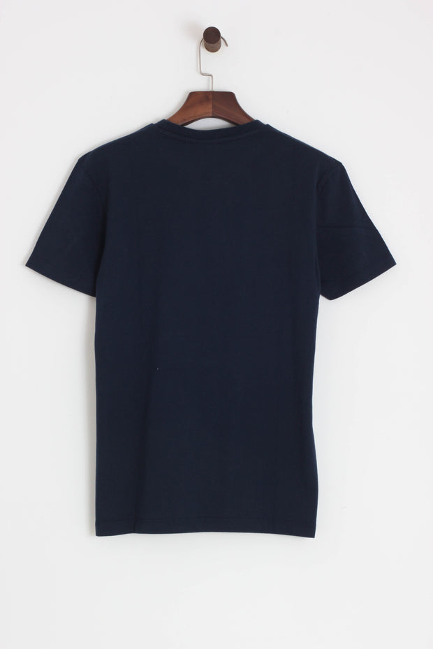 Merc - Granville Mod T-Shirt Navy - Rat Race Margate