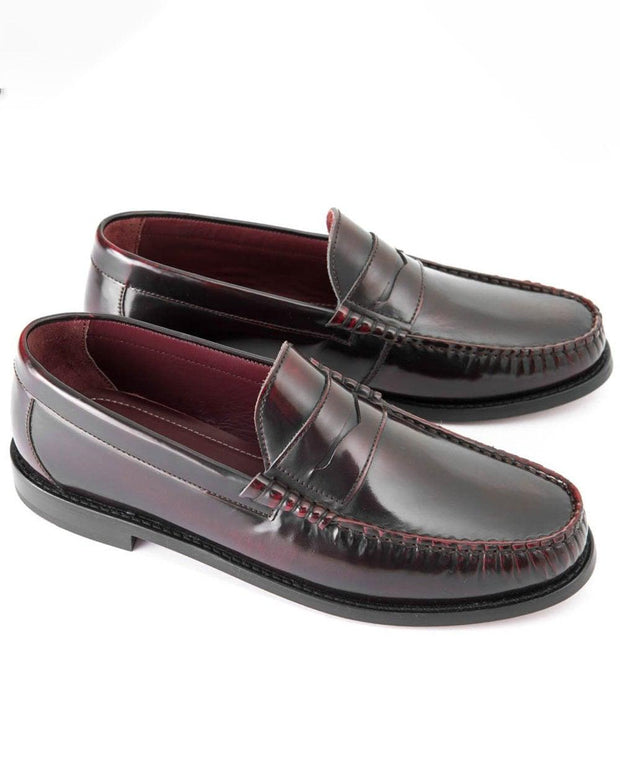 Ikon - Ikon Albion Loafer. Bordo - Rat Race Margate