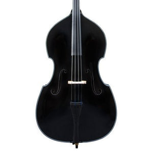 Cecilio CDB-BK Size 3/4 Black Upright Double Bass w/Adjustable Bridge