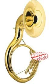 Fever AVA2450L Student BBb Sousaphone Gold Lacquer, AVA2450L