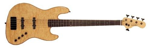 Spector Basses CODA5PRON Coda 5 Pro Bass Guitar, Natural