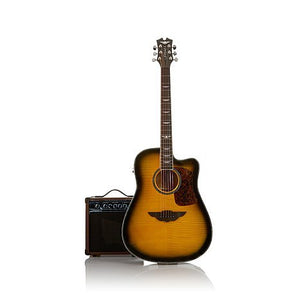 Keith Urban 50-piece Deluxe PLAYER Acoustic-Electric Guitar Package - Brazilian Burst