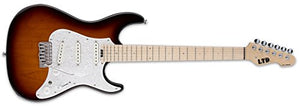 ESP LTD SN-1000W Maple TSB Tobacco Sunburst Fluence W/ Gig Bag and guitarVault Accessory Pack