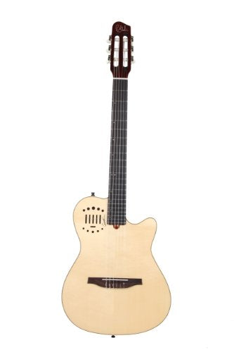 Godin Multiac Nylon Duet Ambiance Acoustic Electric Classical Guitar, Natural