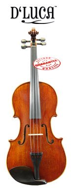 D'Luca CA600VA-16 16-Inch Orchestral Series Flamed Handmade Viola