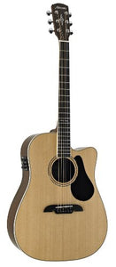 Alvarez Artist Series AD70CE Dreadnought Acoustic - Electric Guitar, Natural/Gloss Finish