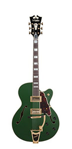 D'Angelico Deluxe 175 Electric Guitar - Matte Emerald