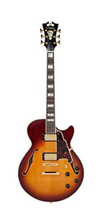 D'Angelico Deluxe Kurt Rosenwinkel SS Semi-Hollow Electric Guitar - Honey Burst