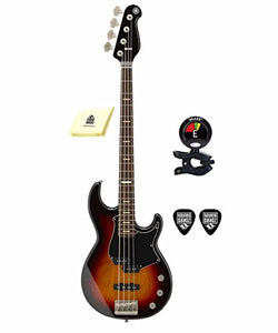 be6358d495 Yamaha BBP34 VS BB-Series 4 Strings Bass Guitar with Active Passive  Electronic Package Includes