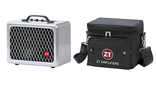 ZT Amplifiers Lunchbox Amp Bundle with Carry Bag (2 Items)