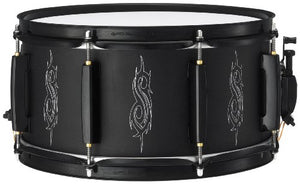 Pearl JJ1365 Joey Jordison Signature Slipknot 13 x 6.5 Inches Steel Snare Drum with Black Hardware
