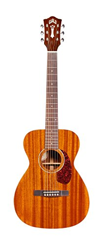Guild M-120E Acoustic-Electric Guitar in Natural