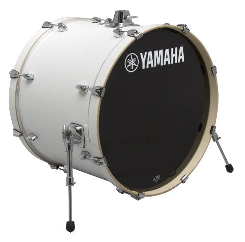Yamaha Stage Custom Birch 24x15 Bass Drum, Pure White