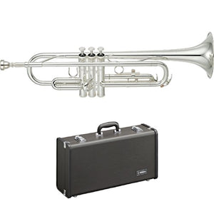 "Yamaha Trumpet Bb YTR-2330S Standard SILVER With ""Hard Case"""