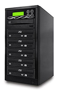 BestDuplicator Blu-Ray BD BDXL M-Disc 5 Target DVD/CD Duplicator 14X Copier Tower Replication Recorder Burner (1 - 5)