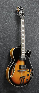 Ibanez AG75BS Artcore Hollowbody Electric Guitar, Brown Sunburst Finish