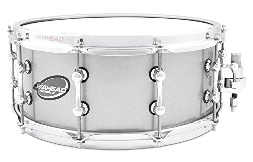 Ahead Brass Snare Silver Sparkle 14 x 6 in.