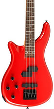 Rogue LX200BL Left-Handed Series III Electric Bass Guitar Candy Apple Red