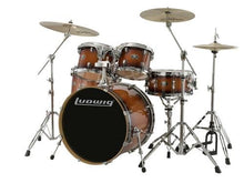 "Ludwig Evolution Maple 6-piece Shell Pack - 22"" - Mahogany Burst"