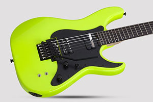 Schecter 6 String Solid-Body Electric Guitar, Birch Green (1289)