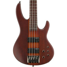 ESP D-4-NS-KIT-2 Natural Satin 4-String Electric Bass with Accessories and Hard Case