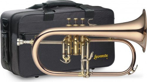 Levante LV-FH6205 Bb Professional Flugelhorn with Soft Case