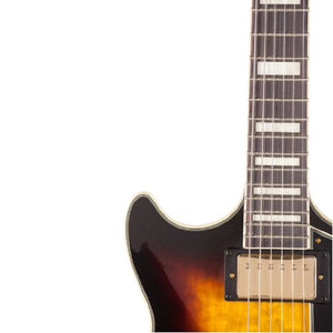 Ibanez AM93AYS Artcore Expressionist Semi-Hollow Electric Guitar, Yellow Sunburst