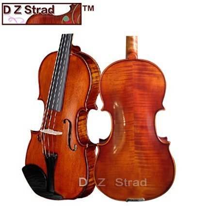 D Z Strad Viola Model 101 with Case and Bow-14